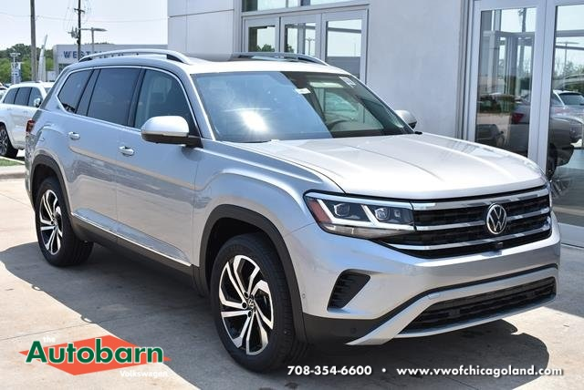 New 2021 Volkswagen Atlas SEL Premium 4Motion