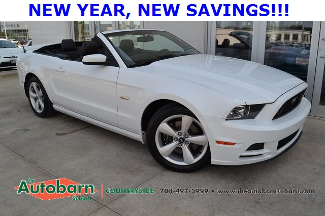 Pre Owned 2014 Ford Mustang Gt Premium 2d Convertible In Countryside