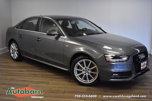 Audi A4 2.0 T >> Pre Owned 2016 Audi A4 2 0t Premium Plus Quattro 4d Sedan
