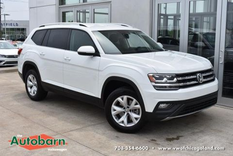Certified Pre-Owned 2018 Volkswagen Atlas 2.0T SE