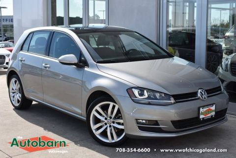 Certified Pre-Owned 2015 Volkswagen Golf TDI SEL 4-Door