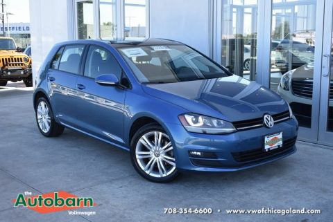 Certified Pre-Owned 2015 Volkswagen Golf TDI SE 4-Door