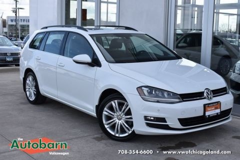 Certified Pre-Owned 2015 Volkswagen Golf SportWagen SE